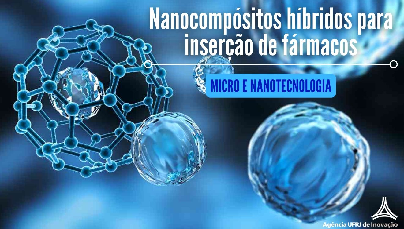 Nanocompositos hibridos para insercao de farmacos